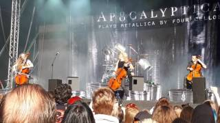 Apocalyptica Plays Metallica By Four Cellos - Battery - TUSKA 2017