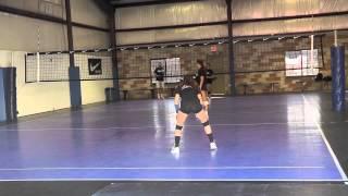 Amanda Karan Volleyball Skills Video (Libero, 2014)