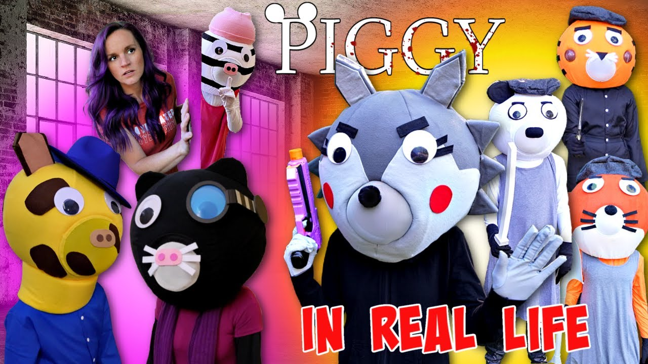 Download Roblox PIGGY In Real Life BOOK 2 CUTSCENE with The Silver Paw Gang