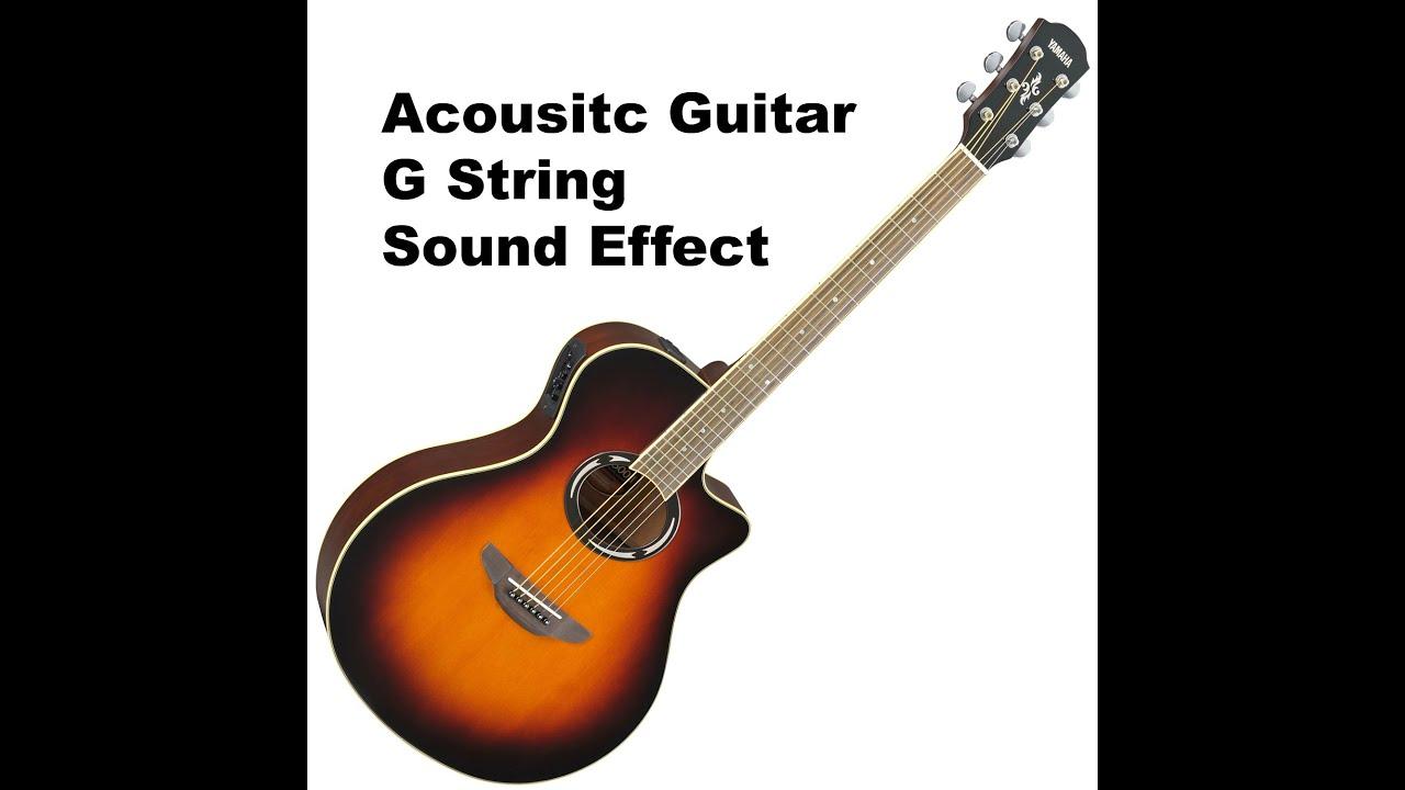 g string acoustic guitar sound fx effect youtube. Black Bedroom Furniture Sets. Home Design Ideas