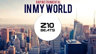 "Alternative rap instrumental ""In my world"""