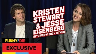 Kristen Stewart and Jesse Eisenberg's Awkward Interview