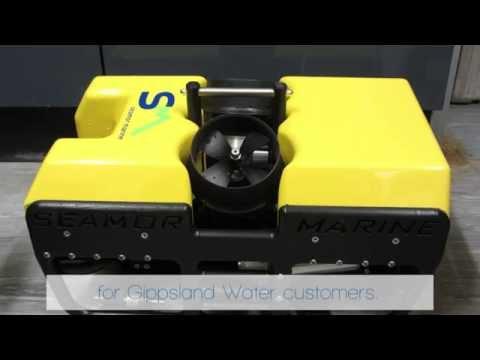Gippsland Water's new robotic underwater camera