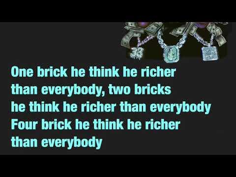 Gucci Mane- Richer Than Errbody (LYRICS) (feat. Young Boy Never Broke Again & Da Baby)