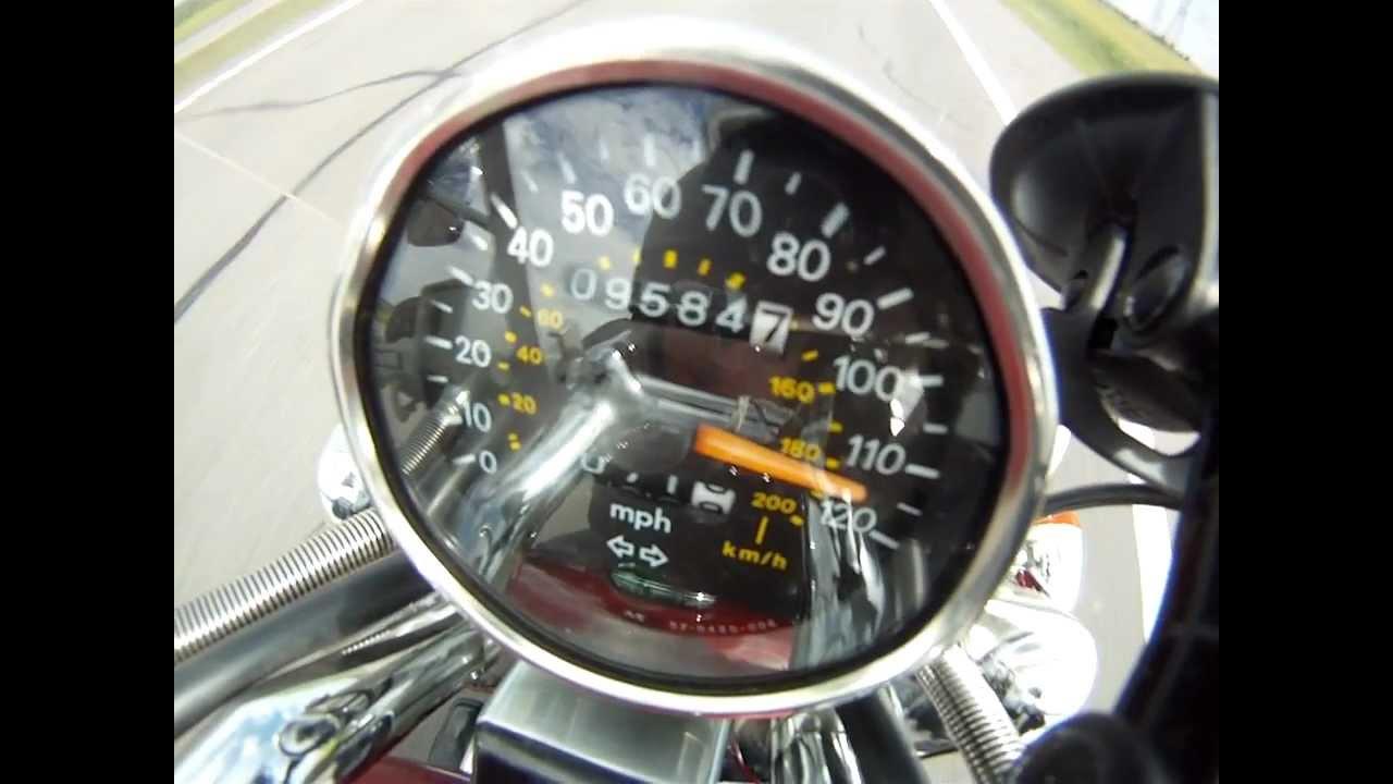 suzuki vs800 2006 max speed 0-185km/h GoPro