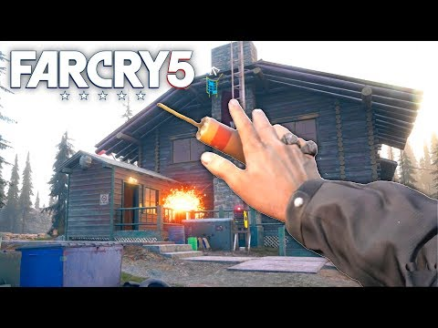 Far Cry 5 - EXPLOSIVES ONLY CHALLENGES | Far Cry Free Roam (#31)