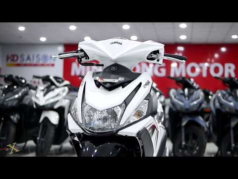 Yamaha Mio M3 125 2020 - Metallic White - Walkaround