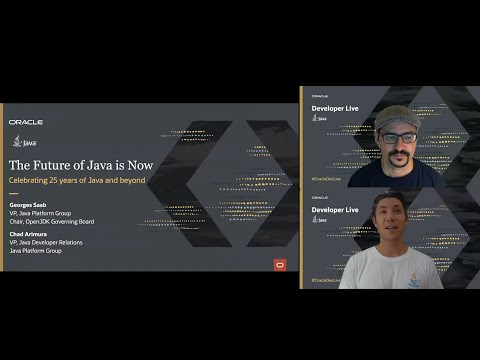 Keynote: The Future Of Java Is Now
