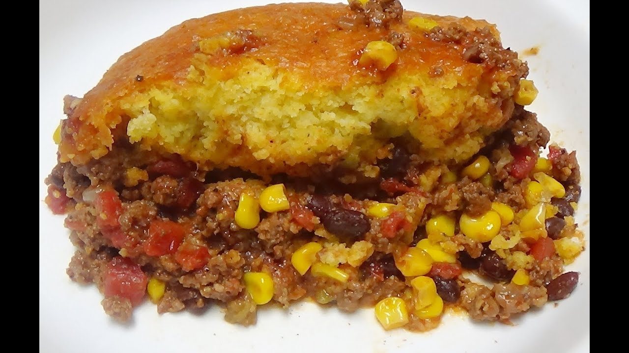 My Recipe for Mexican Cornbread Casserole - One Pot Meal that's Easy to Make