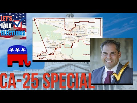 The GOP Wins The California 25th District Special Election