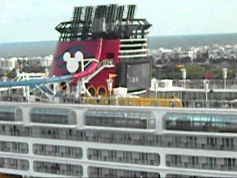 Disney Dream Vs. Re-Imagineered Disney Magic Cruise Ship Horn Battle - YouTube