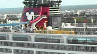 Disney Dream vs. Re-Imagineered Disney Magic Cruise Ship Horn Battle