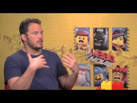 Chris Pratt (Emmet) Interview for THE LEGO MOVIE