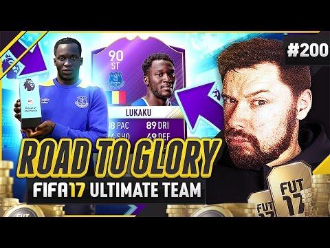 POTM ROMELU LUKAKU!! - #FIFA17 Road to Glory! #200 ultimate team