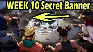 Week 10 Secret Banner Season 8 FORTNITE