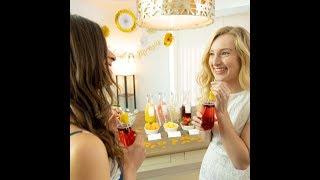 147pc Cotier Brand Mimosa Bar Kit for Bridal Showers, Bachelorette Parties & Brunches