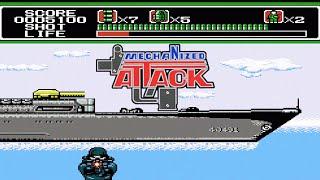 Mechanized Attack NES / Dendy прохождение [170]