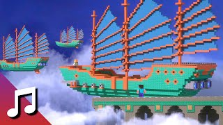 ♪ TheFatRat - Upwind (Minecraft Animation) [Music Video]