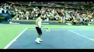 Новак Джокович изображает всех звезд тенниса