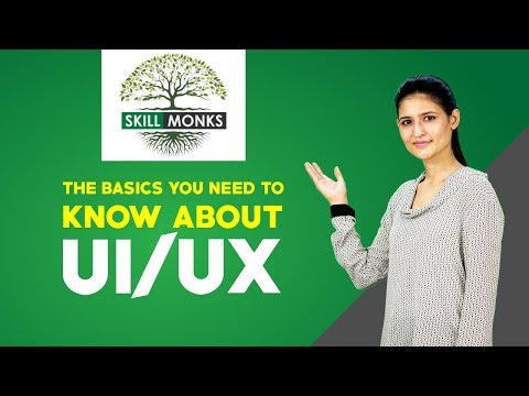 The basics you need to know about UI/UX | UI/UX design tutorial for beginners