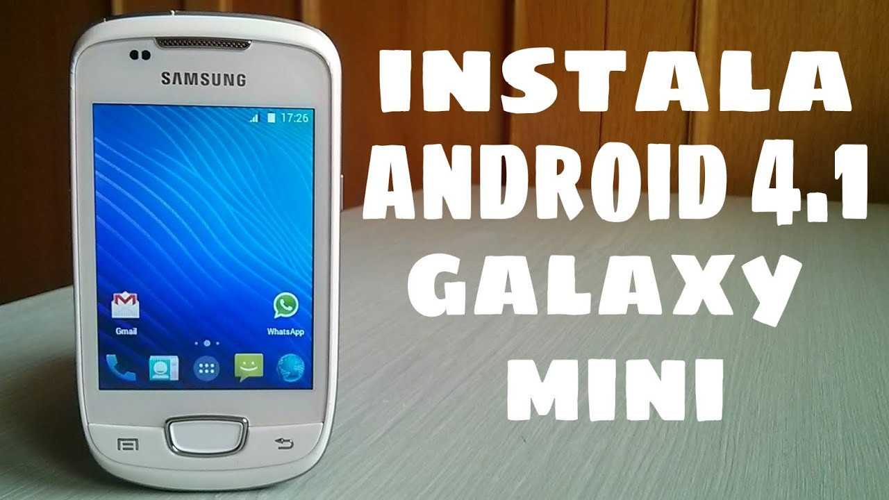 Samsung gt s5570 galaxy mini прошивка скачать