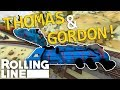 THOMAS CRASHES GORDON!  -  Rolling Line VR Toy Train Simulator  -  Map