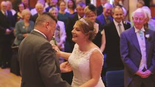 Wendy and Paul  (3) 16/9/17 groom says no at the altar then cries
