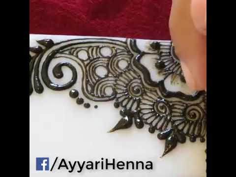 Simples And Easy Arabic Mehndi Design 2018 2019 Youtube