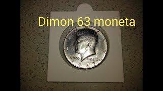 50 центов США ( Kennedy HALF DOLLAR) 1967 года