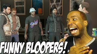 funniest fail bloopers gta 5 heist online with the thugs gta 5 funny moments heist missions