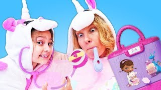 Come watch a new cosplay video about cute Baby Unicorn and Mommy Un...