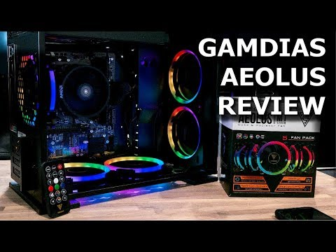 Gamdias Aeolus RGB Fan Review and First Look