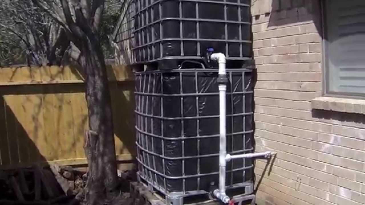 How I Flush My Toilets Using Rainwater Youtube