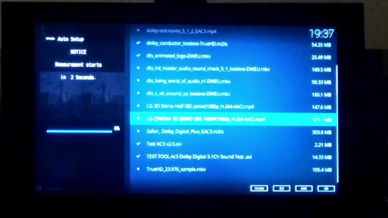 Yamaha Av Receiver Rx V381 Microfone Ypao Calibrando Youtube