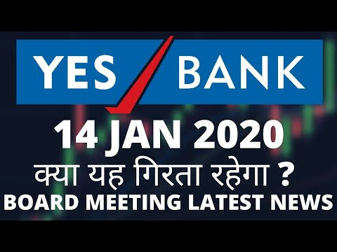 YES BANK Share Price 14 JAN 2020 | YES BANK News | YES BANK Technical Analysis