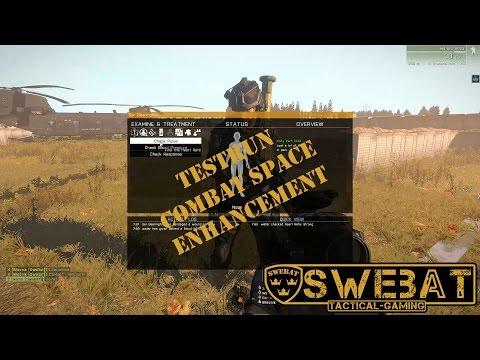 Combat Space Enhancement testing