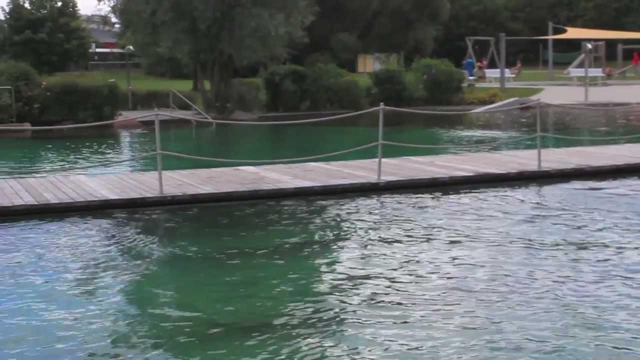 Rockenhausen Natural Swimming Pool Youtube