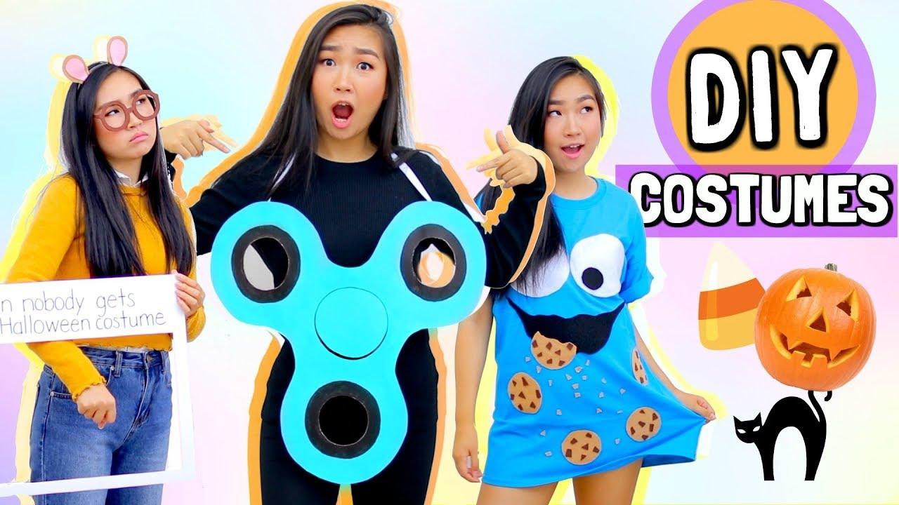 DIY Halloween Costumes (Fidget Spinner, Cookie Monster, Arthur Meme)