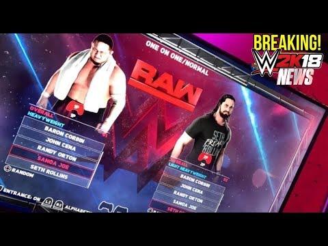 WWE 2K18 News: SELECT A SUPERSTAR MAIN MENU LEAKED, NEW RENDERS! [#WWE2K18 News]