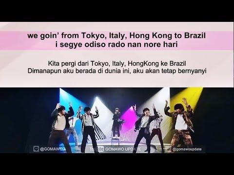 Easy Lyric BTS - AIRPLANE PT.2 By GOMAWO [Indo Sub]