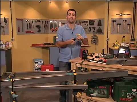 Como hacer una mesa de acero y madera youtube - Construir una mesa de madera ...