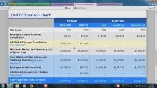 Out-of-pocket Cost Calculator Demo