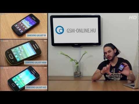 Samsung Galaxy Y teszt - GSM online™