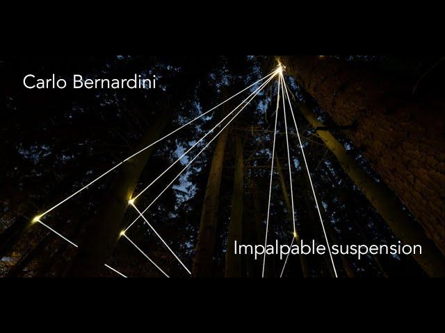 Luce e Colore tra Arte e Design | Carlo Bernardini - Impalpable suspension