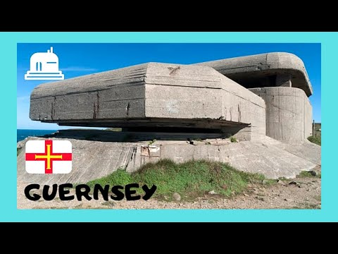 The WW2 historic German Nazi fortifications of GUERNSEY (Channel Islands)