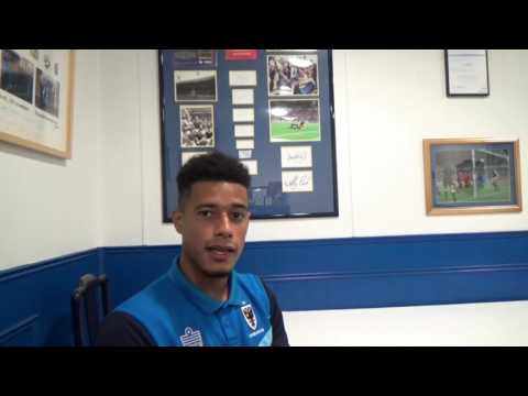 Lyle Taylor on signing new AFC Wimbledon contract