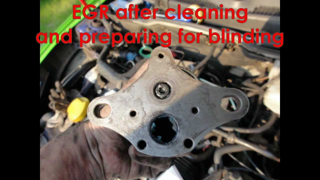 Ford 3 0 Wiring Diagram Opel Tigra Corsa Egr Cleaning And Blinding Zaw 243 R Egr