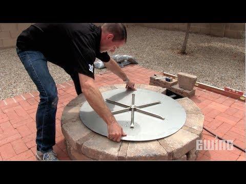 Como Construir Una Fogata De Gas Para Patios Youtube