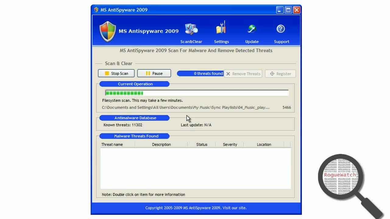 ms antispyware 2009