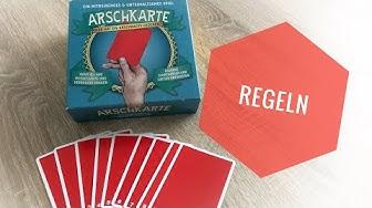 Arschkarte   Regeln